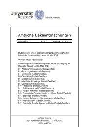 Nr. 17/2012 - Universität Rostock