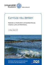 Curricula neu denken - Universität Rostock