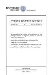 Nr. 7/2013 - Universität Rostock