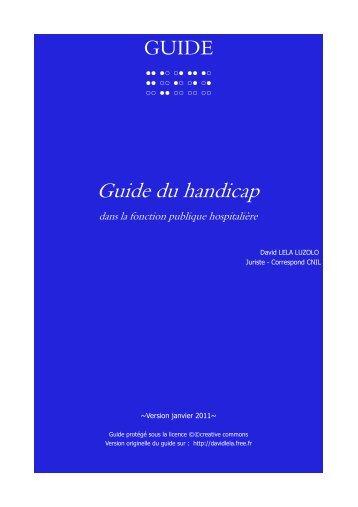 guide du handicap FPH - Anfh
