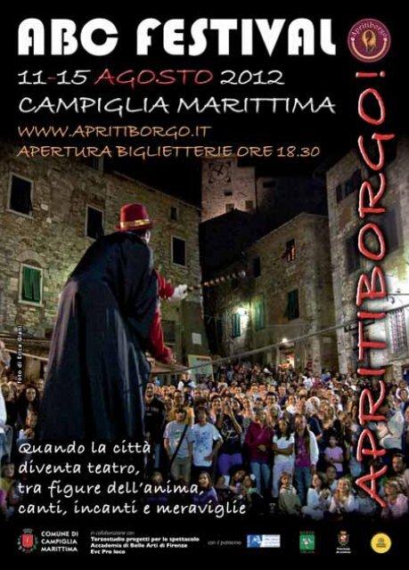 Programma dettagliato 2012 - ABC Festival Apritiborgo