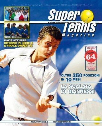 LA SCALATA DI GIANNESSI - Federazione Italiana Tennis