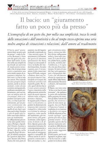 351 Il bacio_Layout 1 - Fondazione Internazionale Menarini