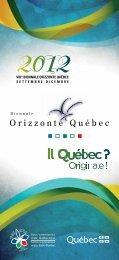 brochure biennale orizzonte quebec - Ministère des Relations ...