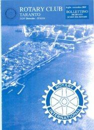 Bollettino Luglio 2005 - Rotary Club Taranto