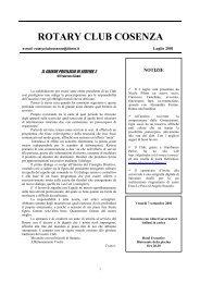 Luglio - Rotarycosenza.Org