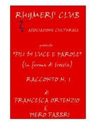 RACCONTI N° 1 - Rhymers' Club