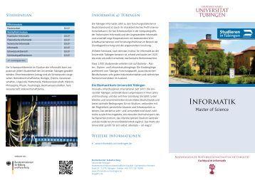 Informatik - Universität Tübingen