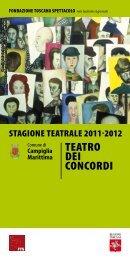 Scarica il depliant (.pdf) - Teatro dell'Aglio
