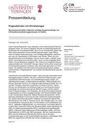 Karin Klingel: Influenza/Importin - Universität Tübingen