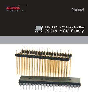 PICC18 Manual - CEA Tech Support