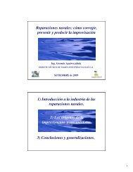 Reparaciones navales: cómo corregir, prevenir y predecir ... - Uruman