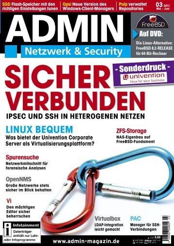 Univention Corporate Server für virtuelle Infrastrukturen