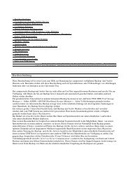 Beschreibung des Backup- und Archiv-Service (PDF) - Universität Ulm