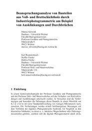 Ingenieurvermessung 2004 - Bauhaus-Universität Weimar