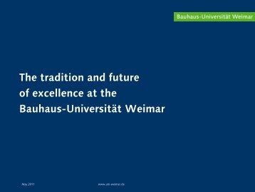 Research - Bauhaus-Universität Weimar