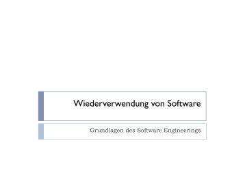Wiederverwendung von Software