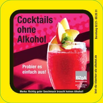 NA TOLL! - Cocktails ohne Alkohol