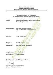 auszug masterarbeit wasser + umwelt - Bauhaus-Universität Weimar