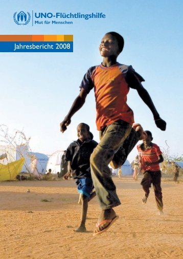 Jahresbericht 2008 - UNO-Flüchtlingshilfe
