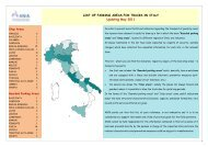LIST OF PARKING AREAS FOR TRUCKS IN ITALY Updating ... - Ania