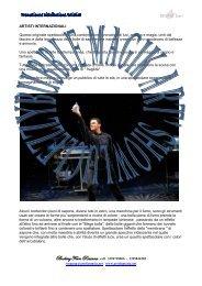 ARTEMIDE Scarl - Agenzia di Spettacolo ARTEFANTASIA Eventi