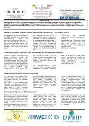 Infoblatt 11 - TSV Hambach