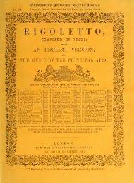 RIGOLETTO,