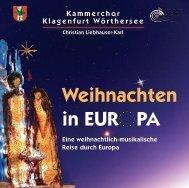 Weihnachten in EUR PA - Kammerchor Klagenfurt Wörthersee