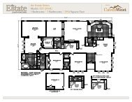 the Estate Series Model: EST-2954G 3 Bedrooms   2 ... - Cavco