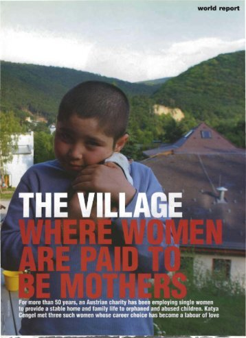 The Village of Mothers - Katya Cengel