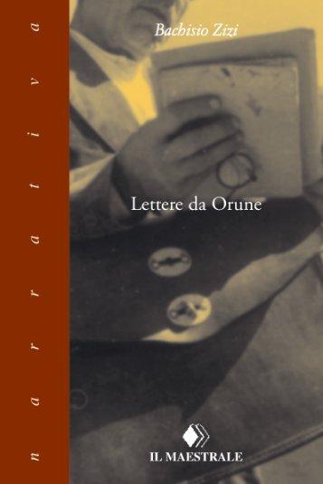 Lettere da Orune - Sardegna Cultura