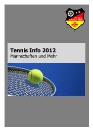 Tennis - Infoheft 2012