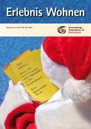 Ausgabe 22 / 2011 - Gemeinnützige Wohnstätten eG