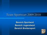 Team Sportwart 2009
