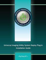 UIUSD Installation Guide - Universal Imaging Utility