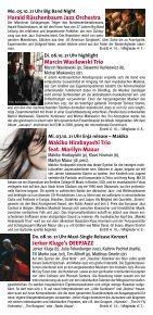 Makiko Hirabayashi Trio feat. Marilyn Mazur - Jazzclub Unterfahrt - Seite 4