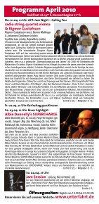 Jeremy Pelt – Men of Honor - Jazzclub Unterfahrt - Seite 3