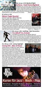 Jeremy Pelt – Men of Honor - Jazzclub Unterfahrt - Seite 4