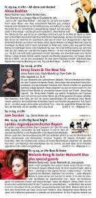 Jeremy Pelt – Men of Honor - Jazzclub Unterfahrt - Seite 6
