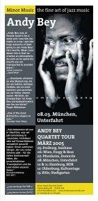 Andy Bey - Unterfahrt München - Seite 5