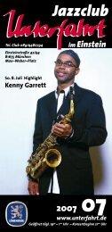 Kenny Garrett - Jazzclub Unterfahrt