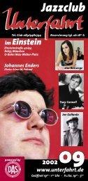 Wir Jazz-Wunderkinder! - Unterfahrt München