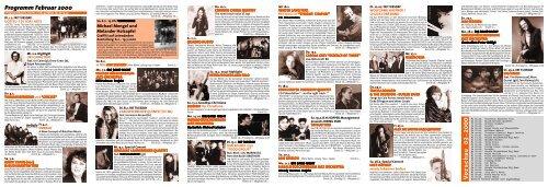 Vorschau 03-2000 Programm Februar 2000 - Jazzclub Unterfahrt