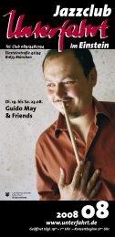 Guido May & Friends - Unterfahrt