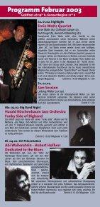 Jazzclub - Unterfahrt München - Seite 2