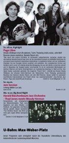Jazzclub - Unterfahrt München - Seite 4