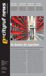 e*Cityruf News 1/2007 - e*Bos - Alarmierung