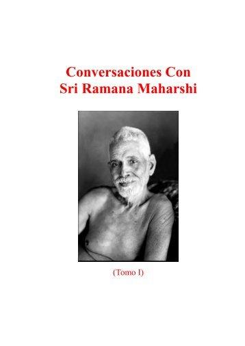 Conversaciones Con Sri Ramana Maharshi - Ashram De ...