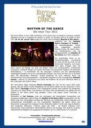 RHYTHM OF THE DANCE - FKP Scorpio Konzertproduktionen GmbH